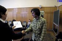 Шанхайские ЛекцИИ 2010 - вручение сертификатов