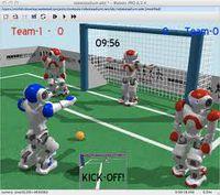 симулятор роботов Webots
